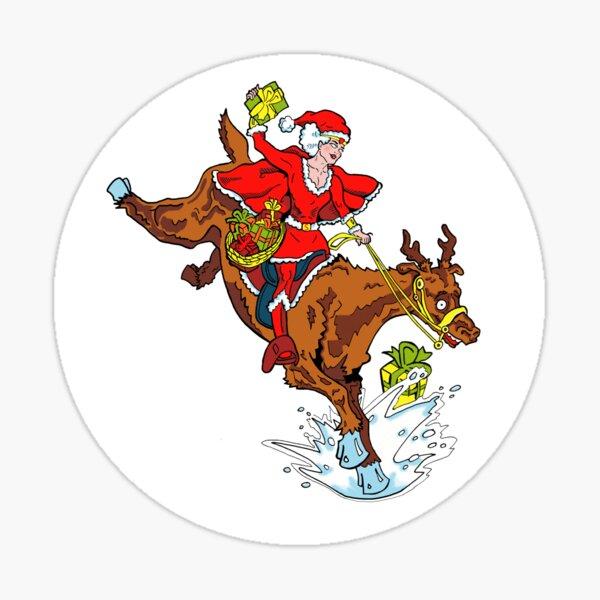 Action Christmas - Wonder Santa! Sticker