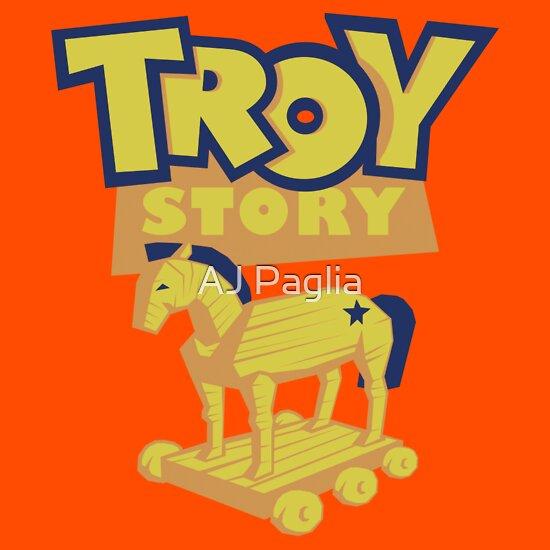 TShirtGifter presents: Troy Story