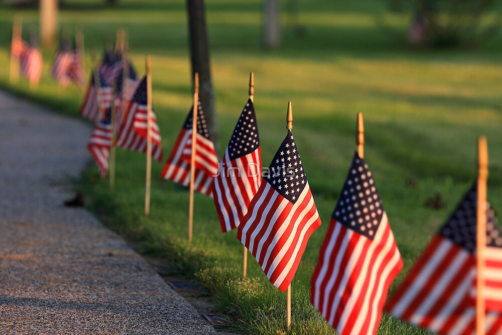 Remembering American Heros by Jim Davis