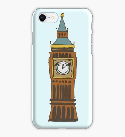 Cute Big Ben Tee iPhone Case/Skin