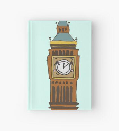 Cute Big Ben Tee Hardcover Journal