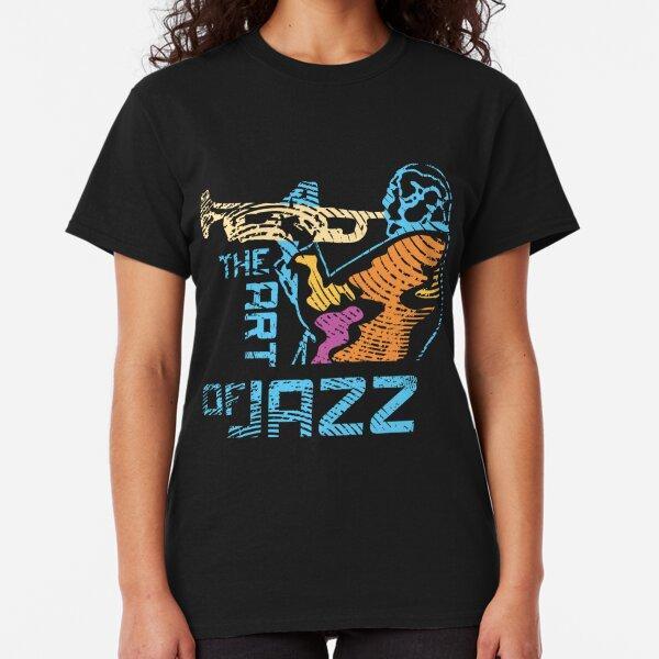 Art of Jazz Modern Art Style Classic T-Shirt