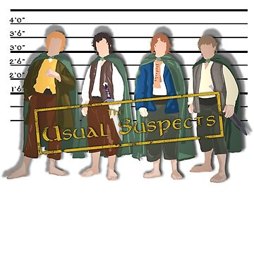 The Usual Suspects - Halflings by grevls