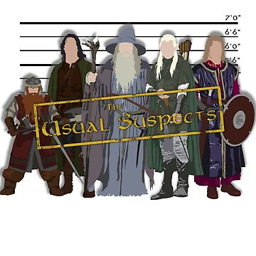 The Usual Suspects - Heroes by grevls