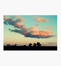 saturday eve Photographic Print
