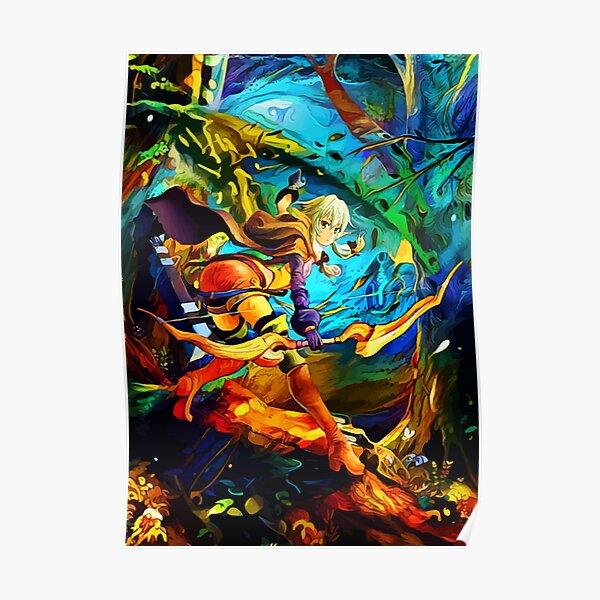High elf archer Poster