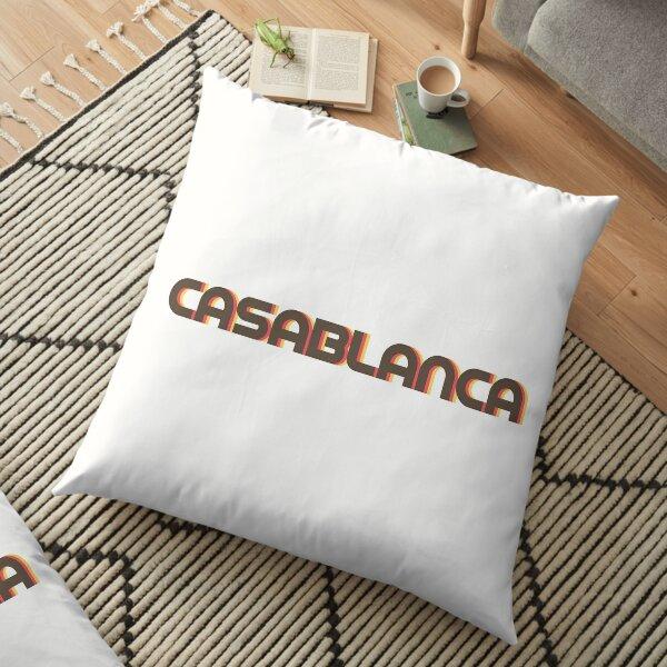 Casablanca Retro Floor Pillow