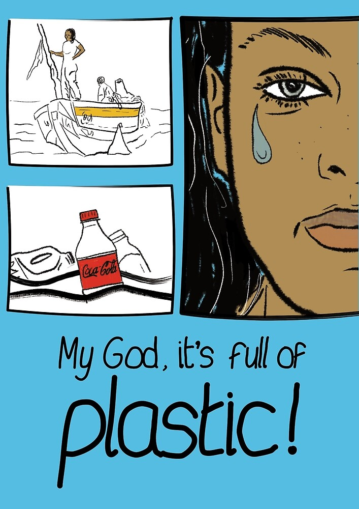 It's full of plastic by Ross Hall