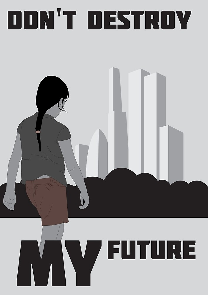 Don't destroy my future by Ross Hall