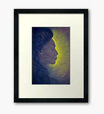 Light of beauty Framed Print
