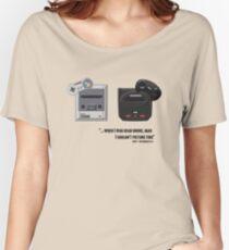 Juicy - Super Nintendo Sega Genesis Women's Relaxed Fit T-Shirt
