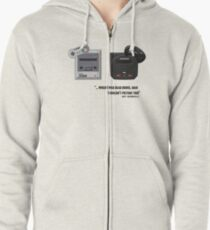 Juicy - Super Nintendo Sega Genesis Zipped Hoodie