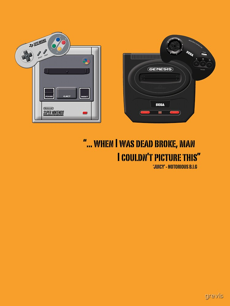Juicy - Super Nintendo Sega Genesis | Unisex T-Shirt