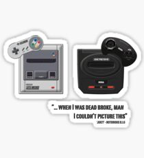 Juicy - Super Nintendo Sega Genesis Sticker