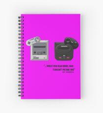 Juicy - Super Nintendo Sega Genesis Spiral Notebook
