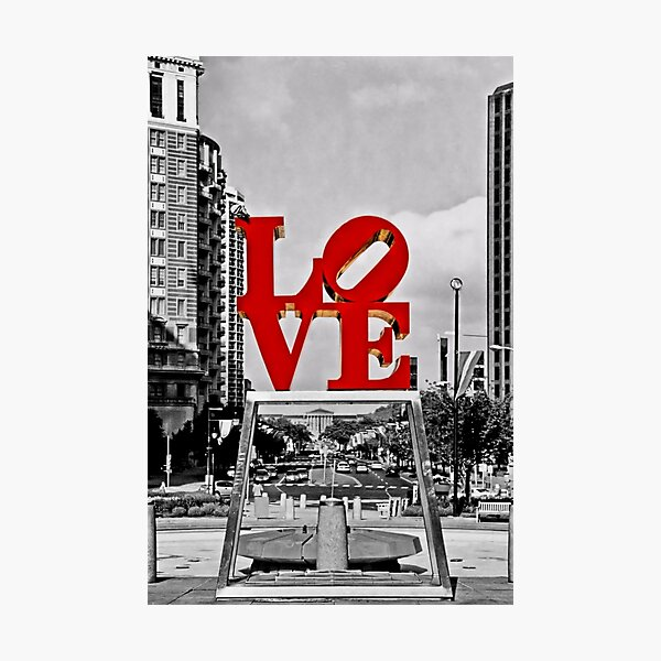 City Of Brotherly LOVE Photographic Print