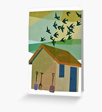 Late Summer and the Birds Greeting Card