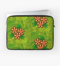 Flower - Green Laptop Sleeve