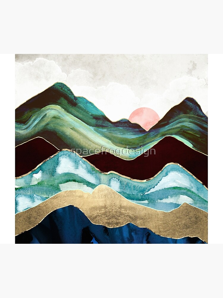 Velvet Mountains by spacefrogdesign
