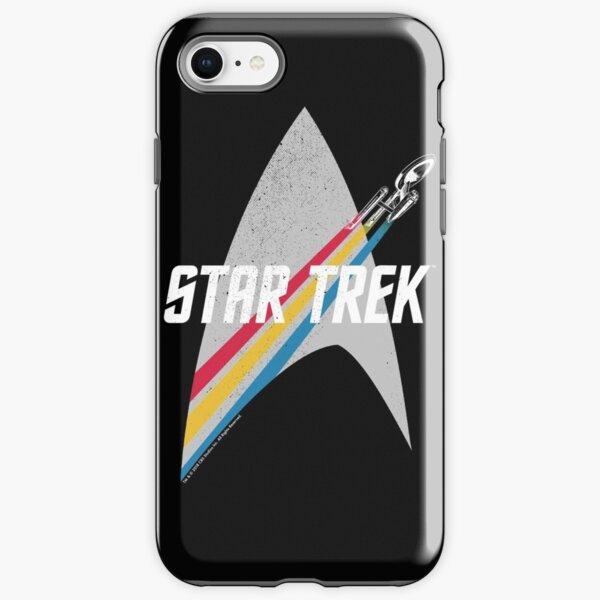 Star Trek Original Series Retro Striped Logo iPhone Tough Case
