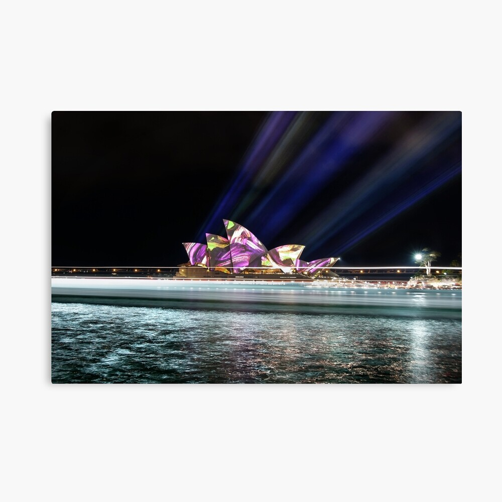 Lighting the Sails Canvas Print