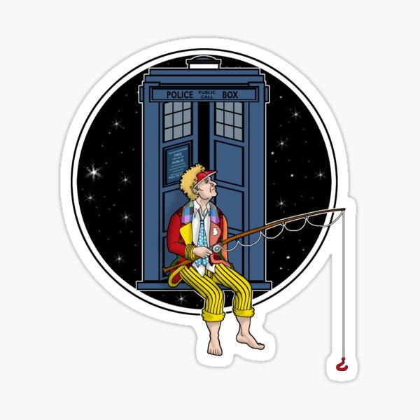 Doctor Who: Fishing Sticker