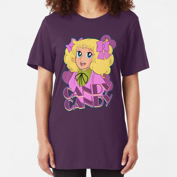 Candy Candy - Anime Slim Fit T-Shirt