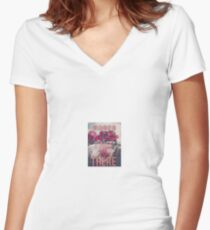 Bel Air LANA DEL REY Women's Fitted V-Neck T-Shirt