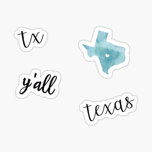 texas pack Sticker
