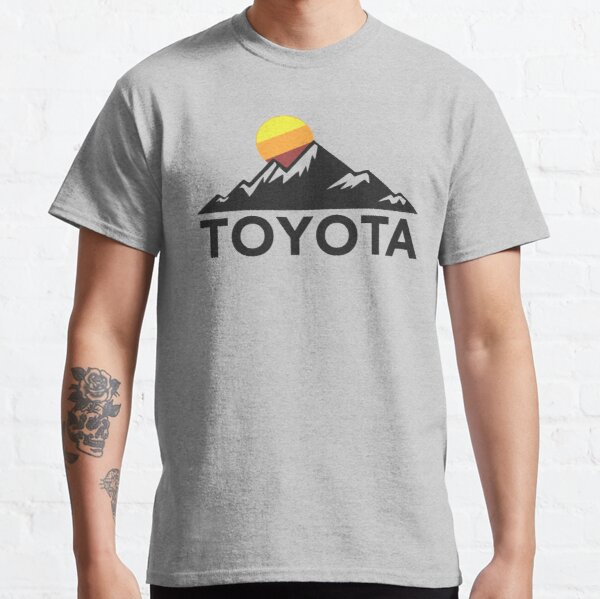 Toyota Mountain Back-Of-Shirt Design Classic T-Shirt