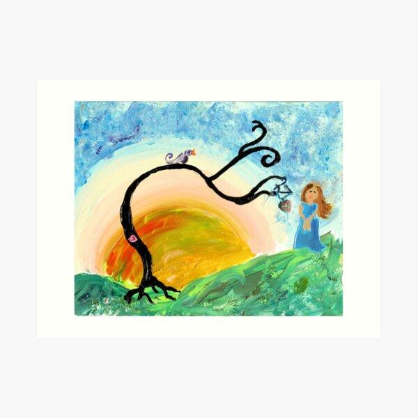 Sunset Day Dream Art Print