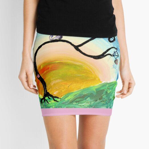 Sunset Day Dream Mini Skirt