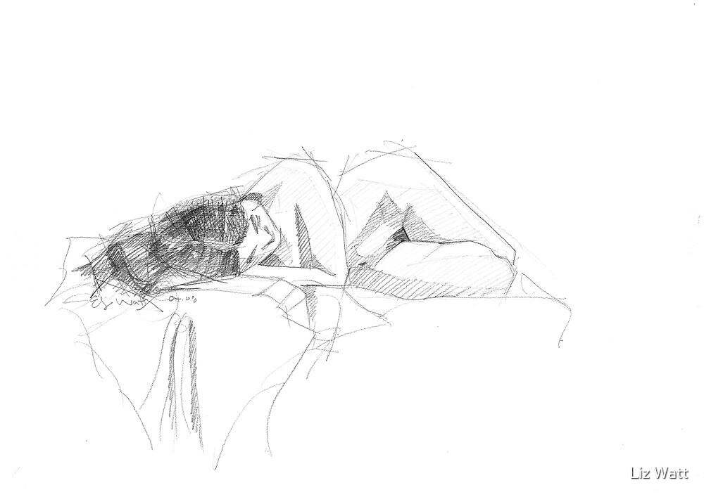 female nude by Elizabeth Watt
