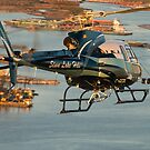 Slave Lake Helicopter by Ken Scarboro