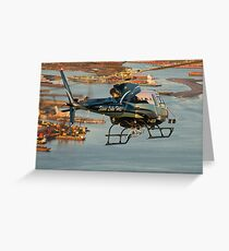 Slave Lake Helicopter Greeting Card