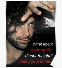 Adan Turner's invitation to dinner Poster