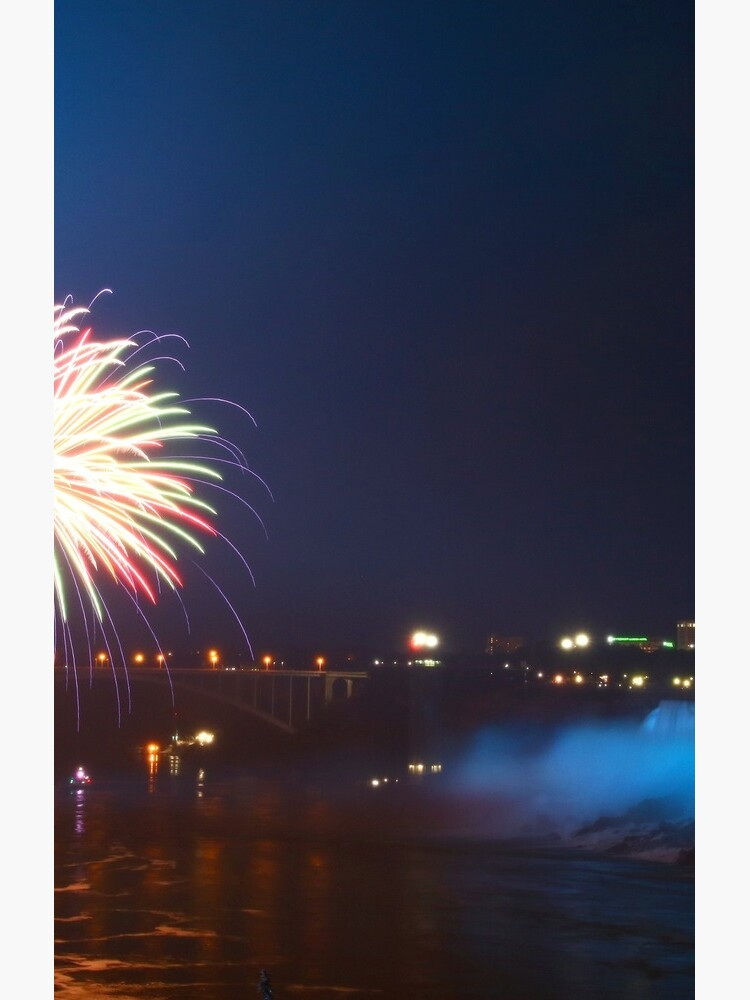 Fireworks over the American Falls by fototakerTony