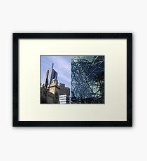 Flinders Streetscape Framed Print