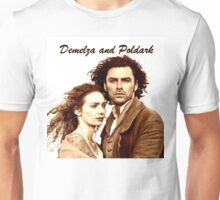 Demelza and Poldark in Cornwall Unisex T-Shirt