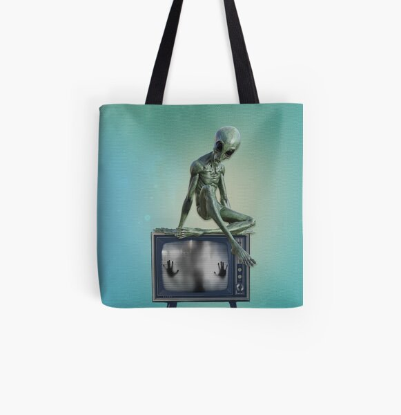 Telecommunication All Over Print Tote Bag