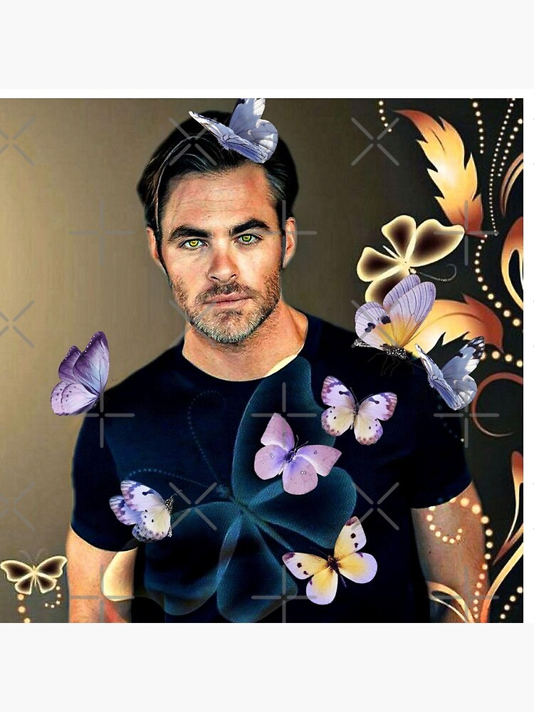 Chris Pine by LaurenceS06