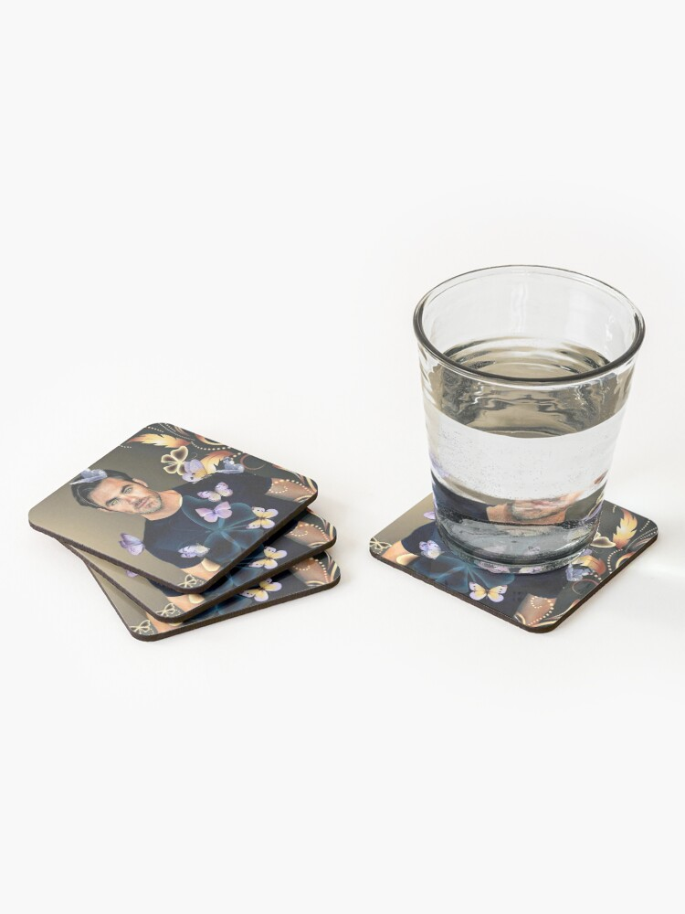 Alternate view of Chris Pine Coasters (Set of 4)