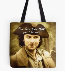 Sexy Poldark in Cornwall Tote Bag