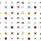 Animal Crossing New Leaf Tsum Pattern by pirateprincess