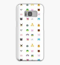 Animal Crossing New Leaf Tsum Pattern Samsung Galaxy Case/Skin