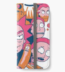 Rick and Morty Collage iPhone Wallet/Case/Skin