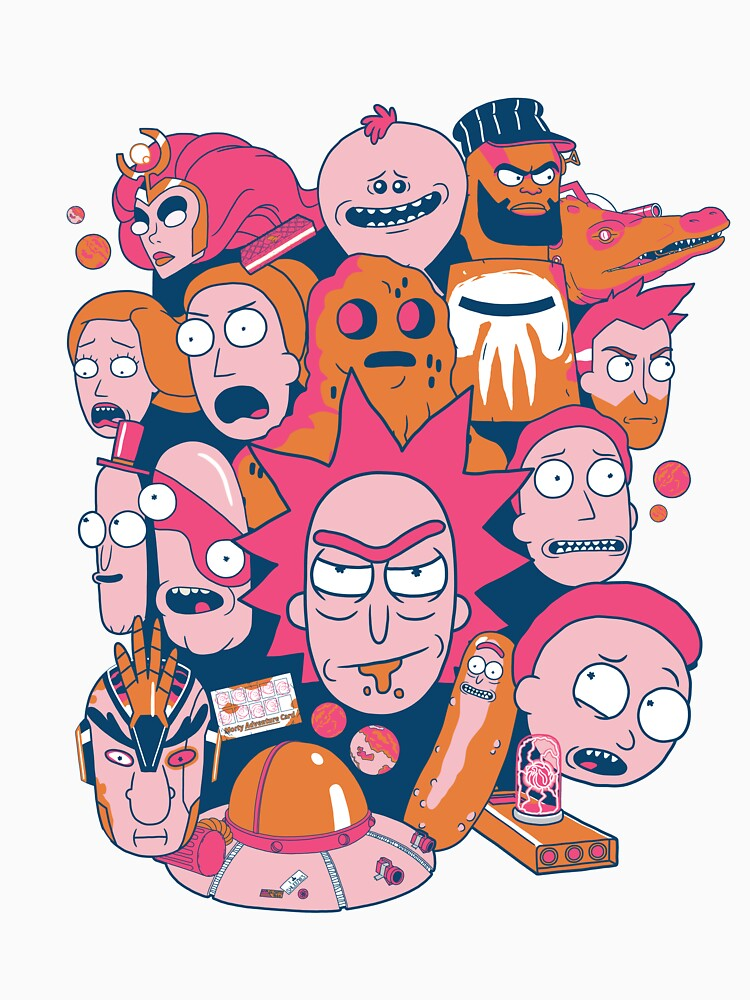 Rick and Morty Collage by ToastMonsters