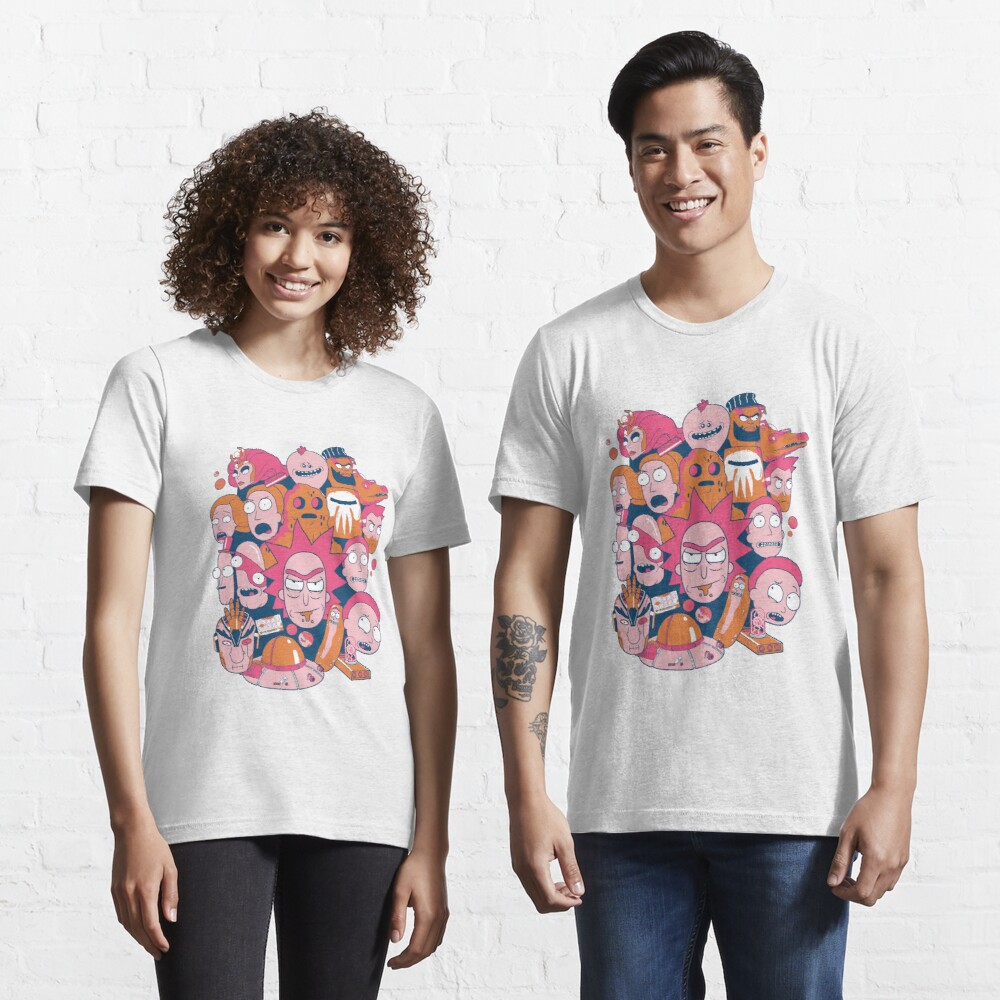 Rick and Morty Collage Essential T-Shirt