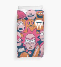 Rick and Morty Collage Duvet Cover