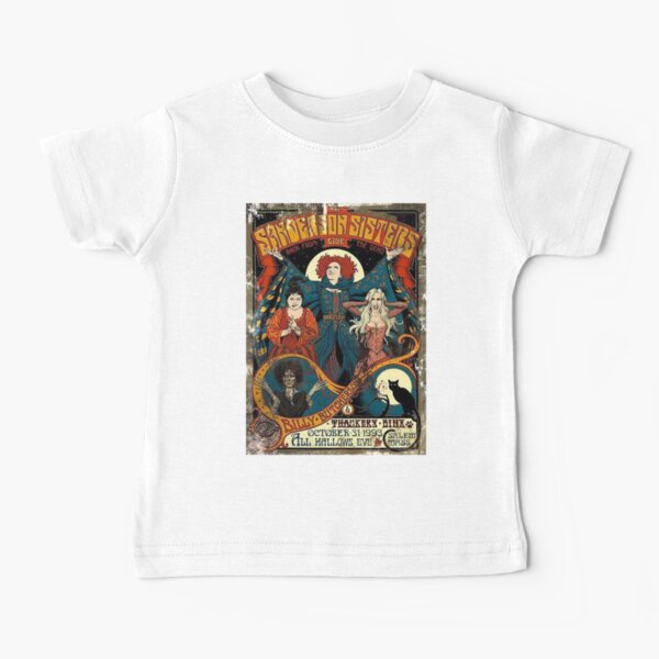 Sanderson sisters vintage/halloween shirt/hocus pocus/witch/witch shirt/fall shirts/witch shirt/halloween/fall/hocus pocus shirt Baby T-Shirt